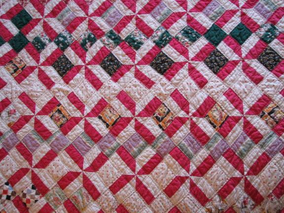Rosa's Quilt - Pinwheels