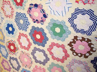 Rosa's Quilt - Hexagons