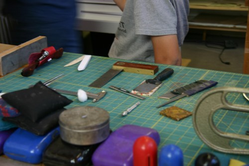 Weights, folding and cutting tools…