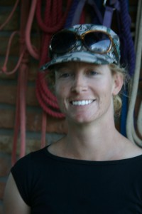 Katherine Calkins, trainer at the J-Six Equestrian Center, the power behind Wicked Good Horsemanship